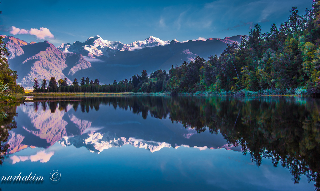 Озеро Мэтисон в Новой Зеландии, фото 5