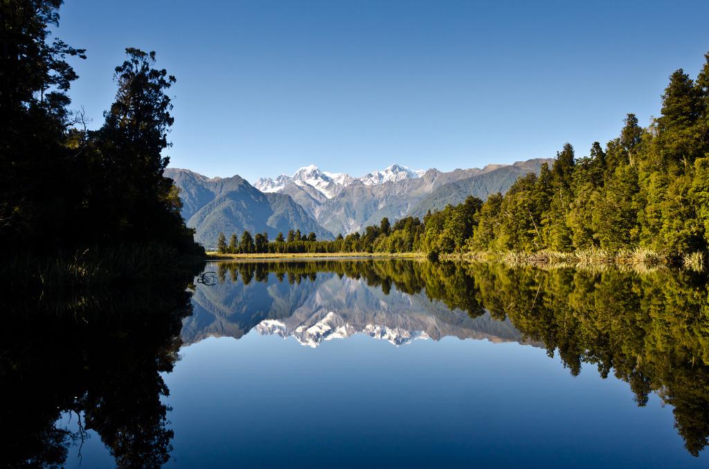 Озеро Мэтисон в Новой Зеландии, фото 10