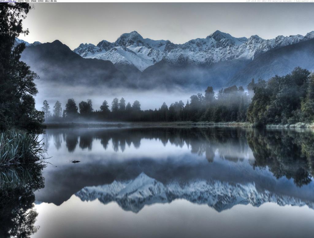 Озеро Мэтисон в Новой Зеландии, фото 12