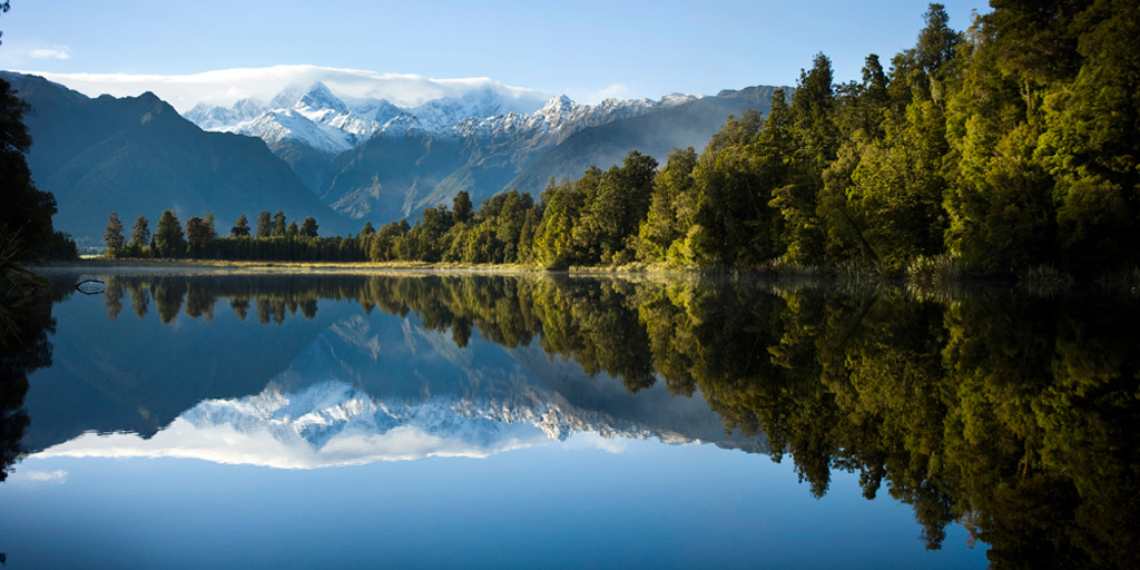 Озеро Мэтисон в Новой Зеландии, фото 13