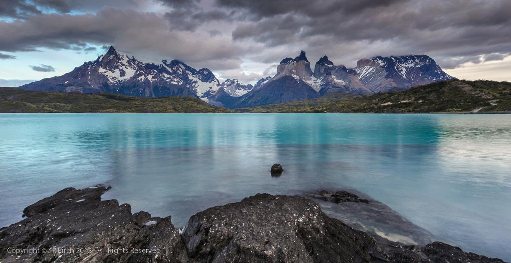 Озеро Пехое в Чили, фото 2