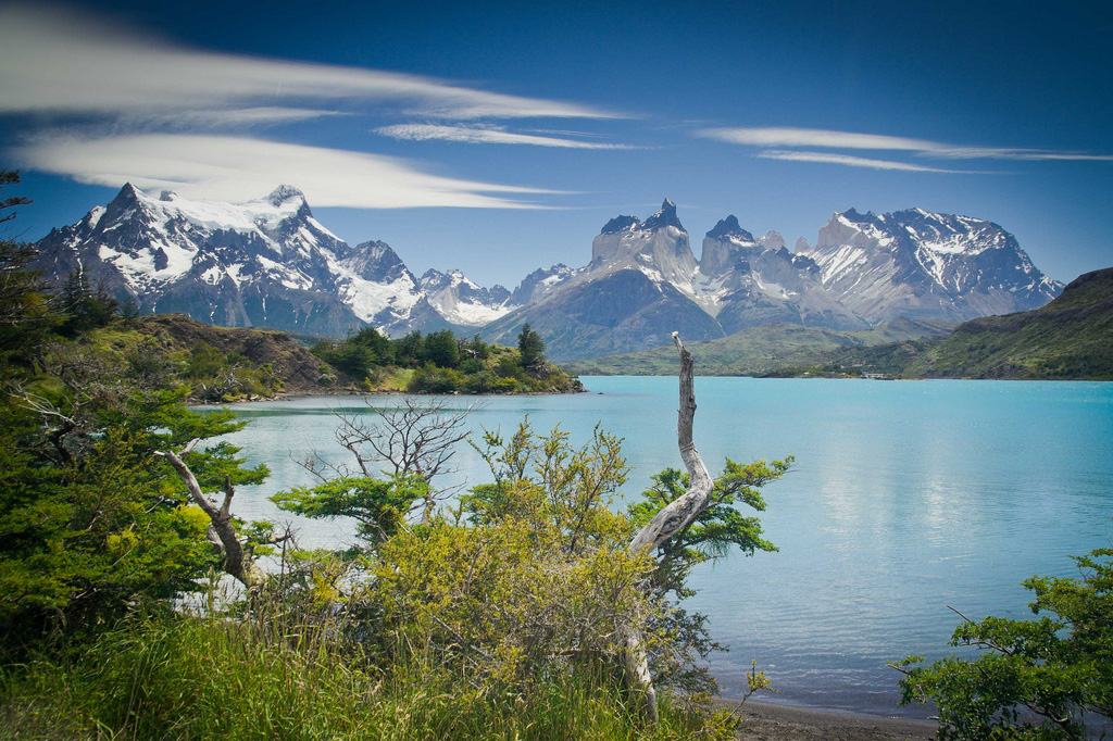 Озеро Пехое в Чили, фото 3