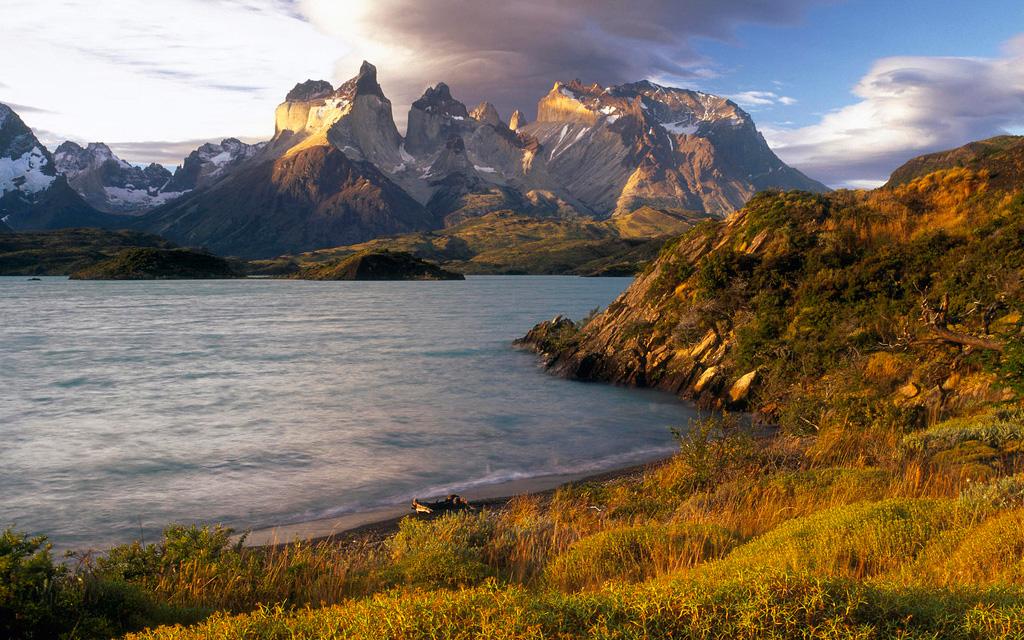 Озеро Пехое в Чили, фото 4