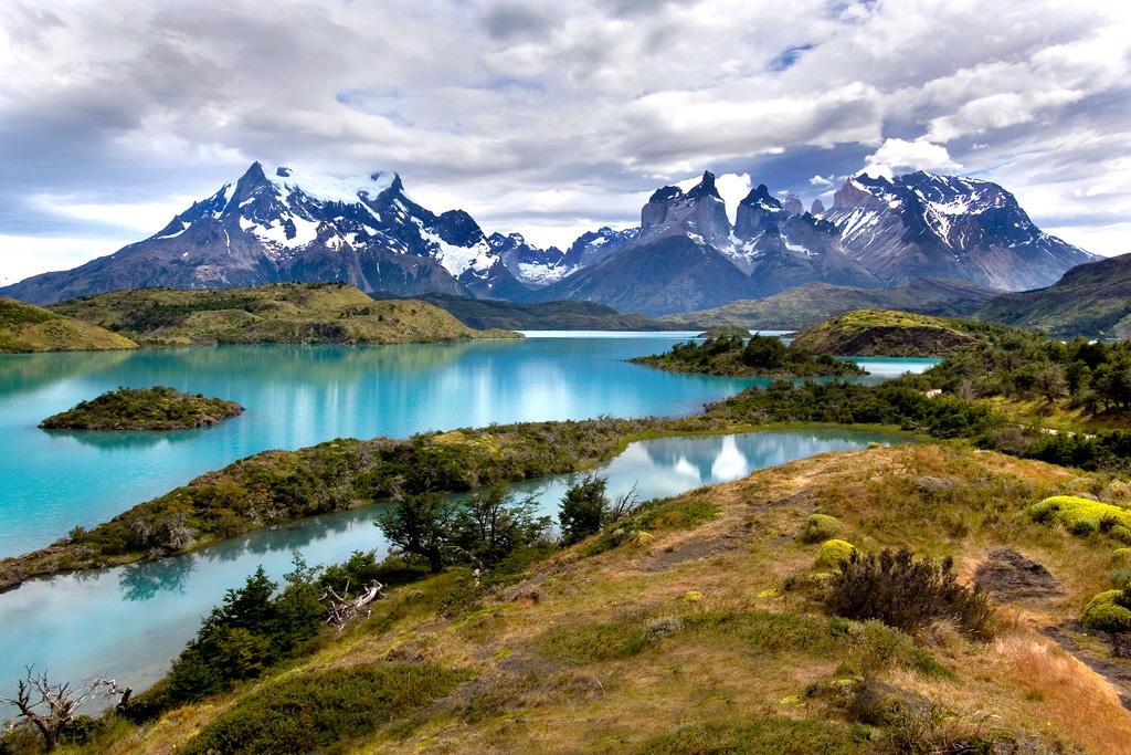 Озеро Пехое в Чили, фото 5