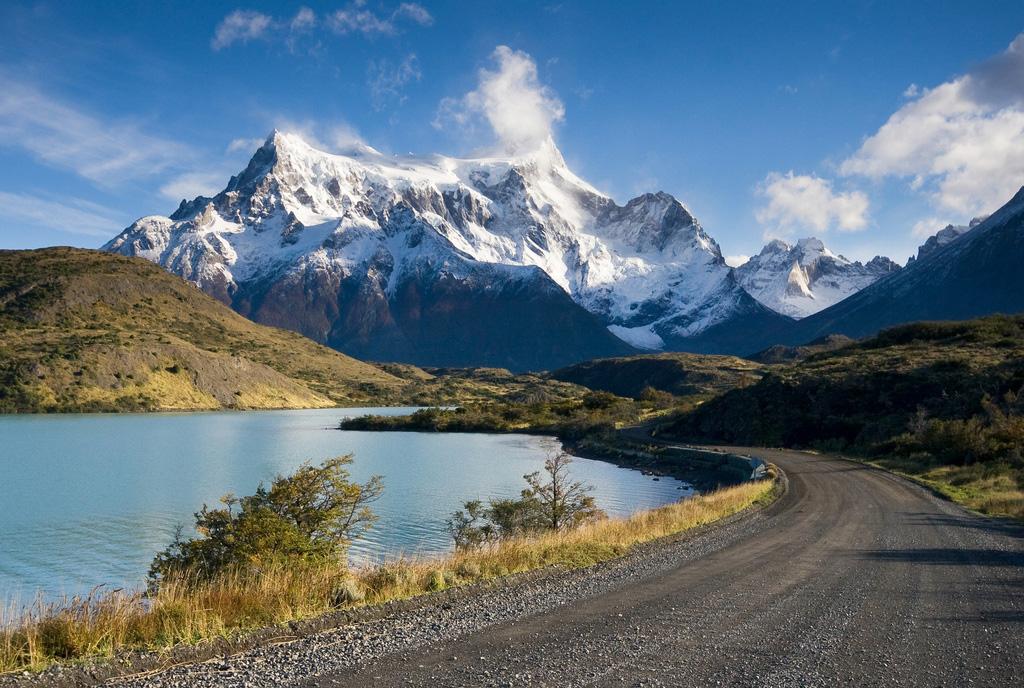 Озеро Пехое в Чили, фото 6