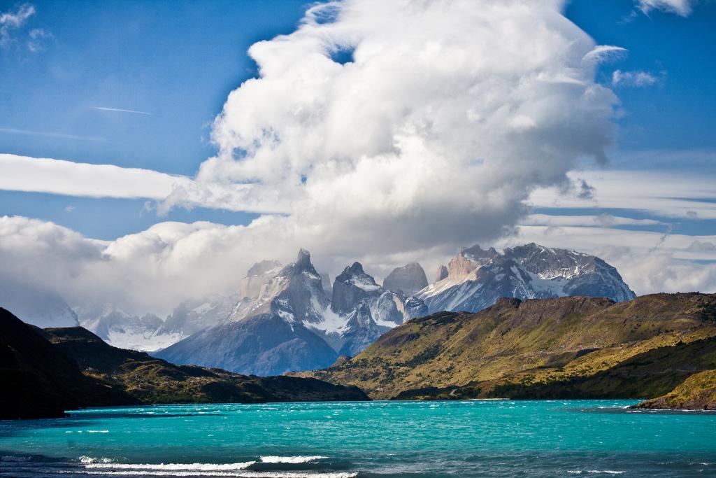 Озеро Пехое в Чили, фото 7