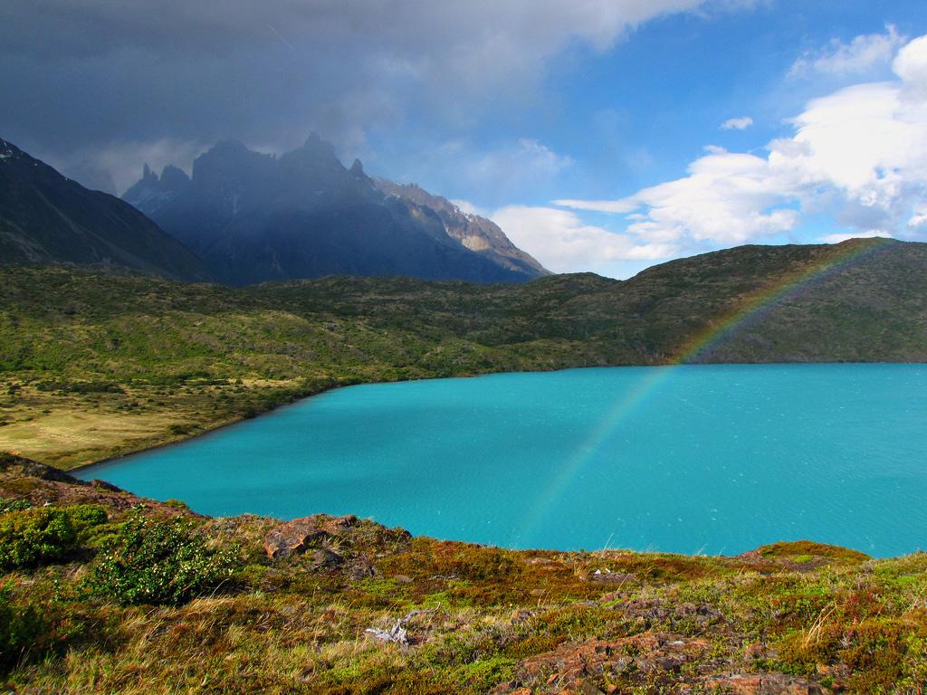Озеро Пехое в Чили, фото 8