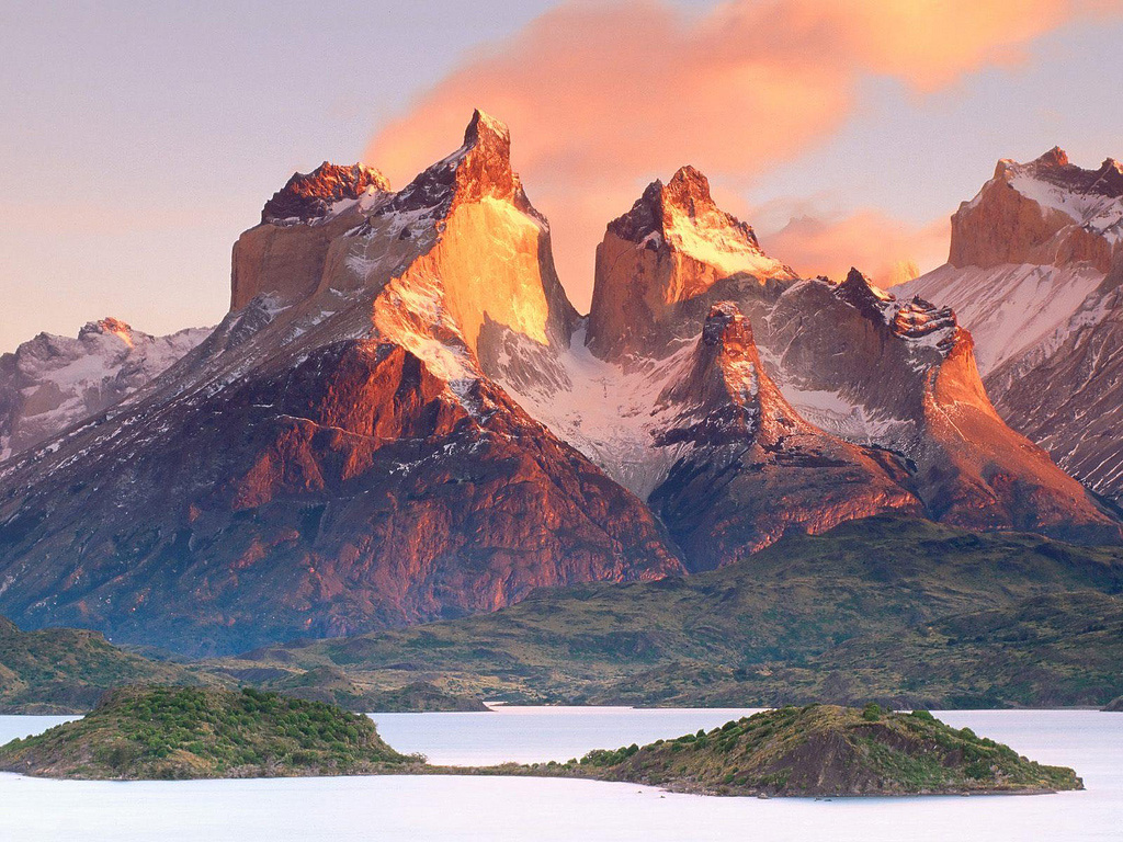 Озеро Пехое в Чили, фото 9