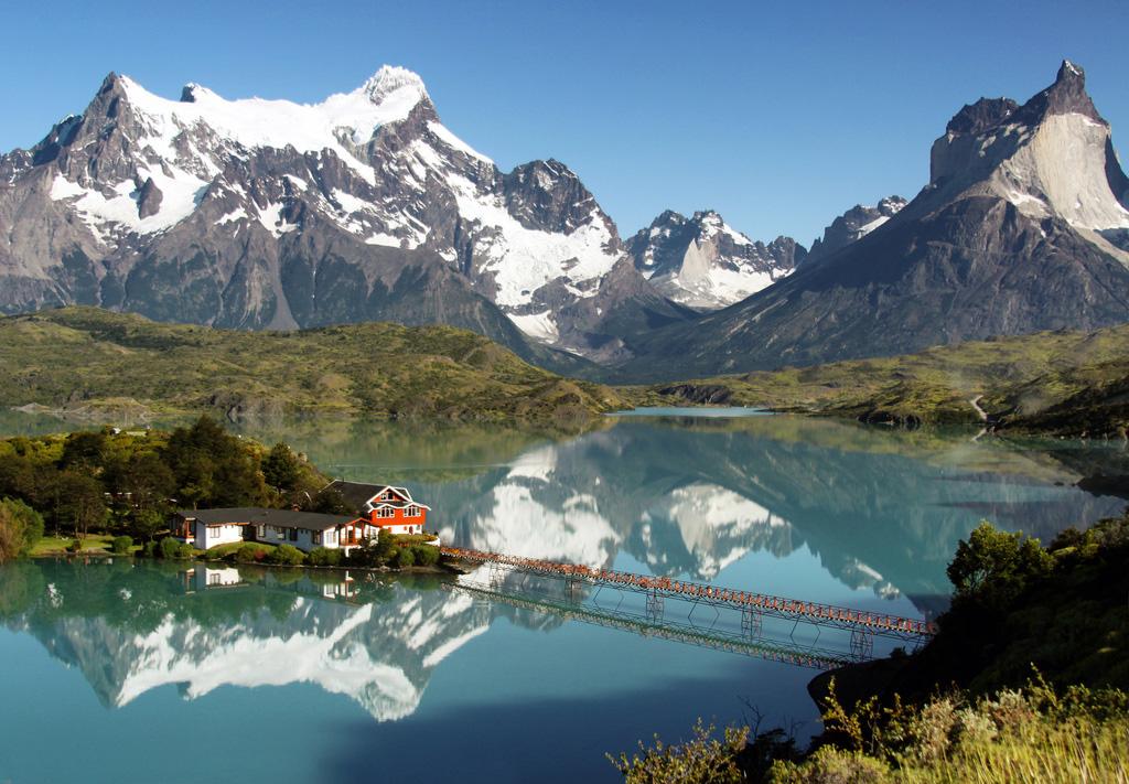 Озеро Пехое в Чили, фото 10