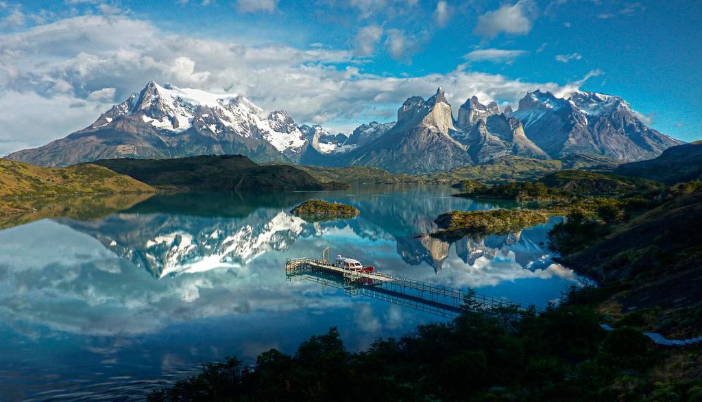 Озеро Пехое в Чили, фото 14