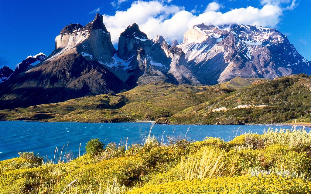 Озеро Пехое в Чили, фото 15