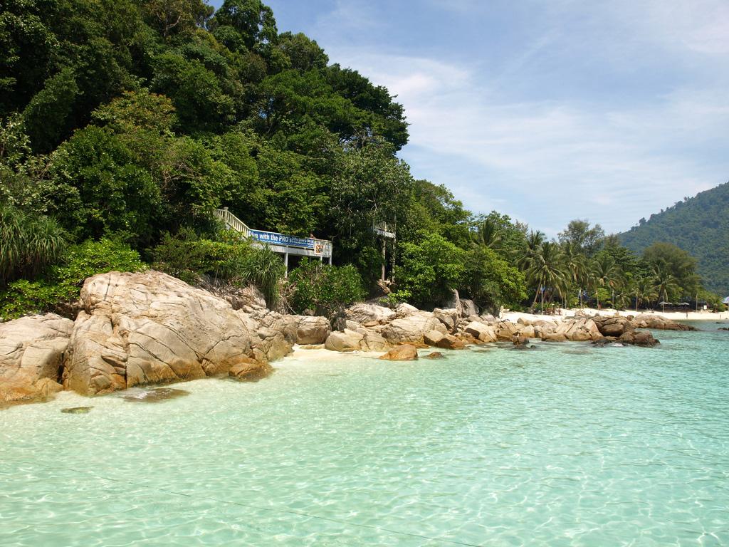 Перхентианские острова в Малайзии, фото 1