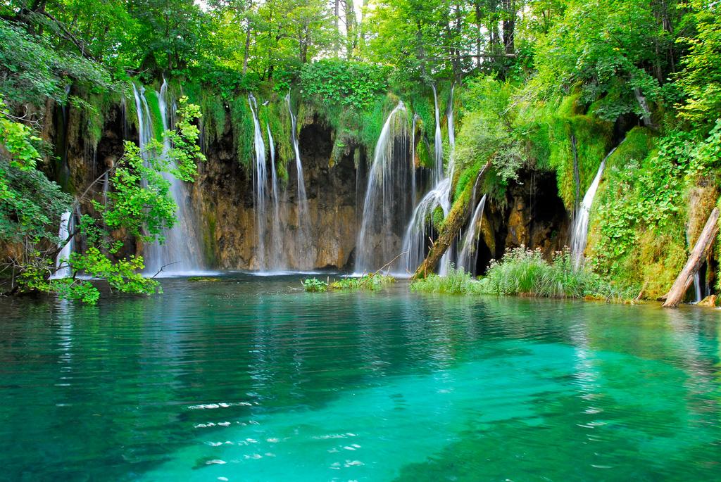Плитвицкие озера в Хорватии, фото 2