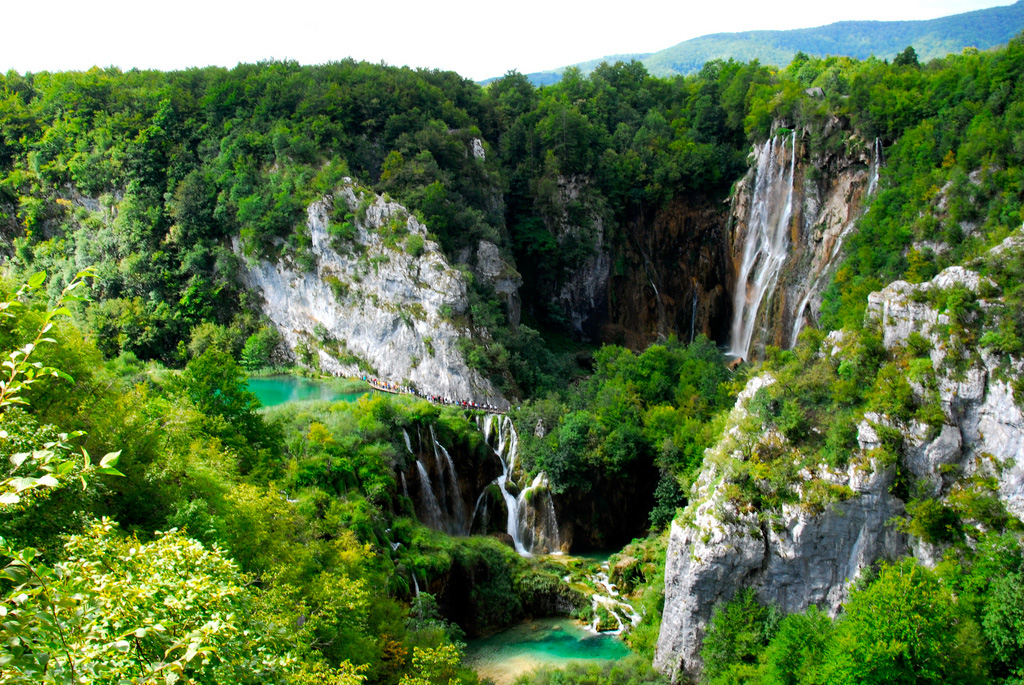 Плитвицкие озера в Хорватии, фото 3