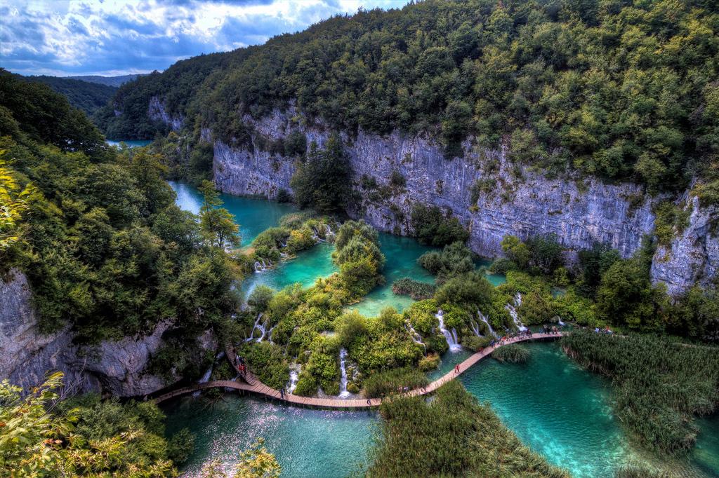 Плитвицкие озера в Хорватии, фото 5