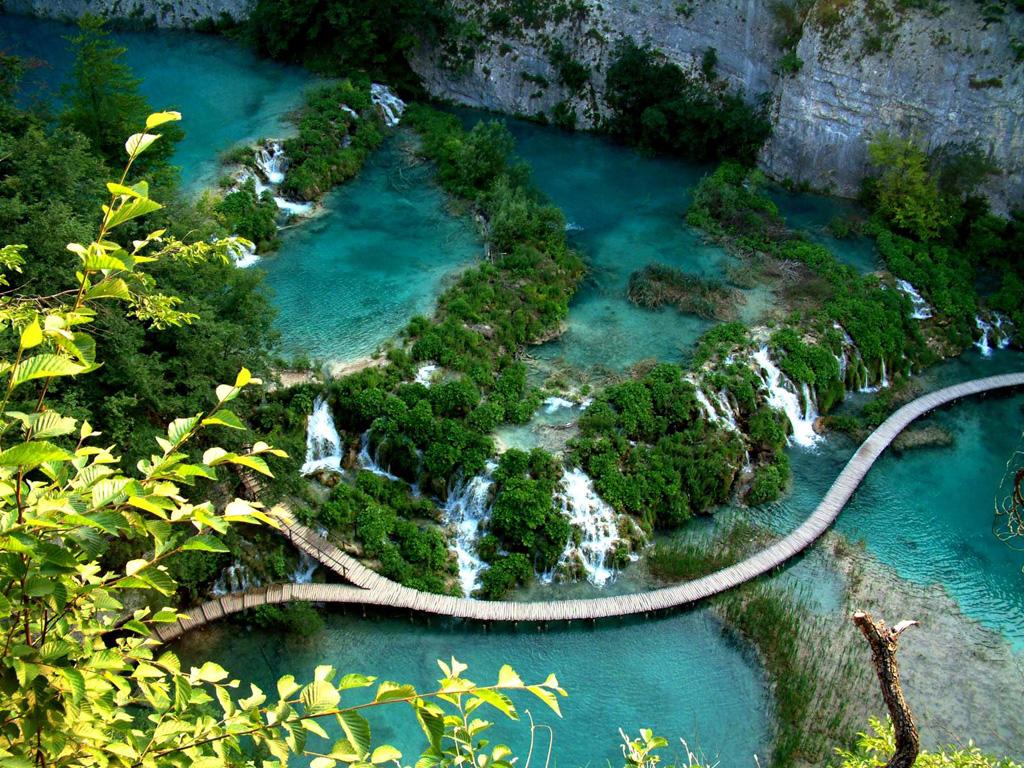 Плитвицкие озера в Хорватии, фото 6