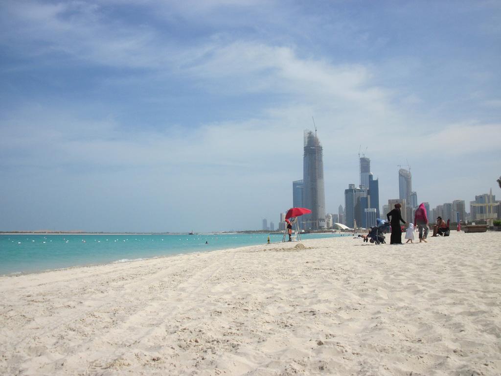 Пляж Абу-Даби в ОАЭ, фото 2