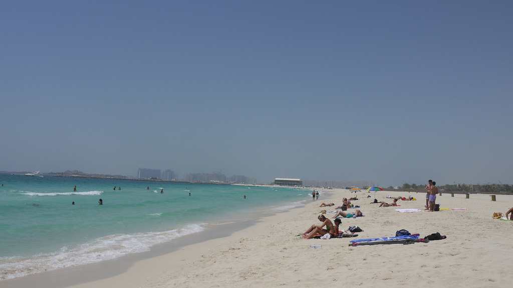 Пляж Абу-Даби в ОАЭ, фото 3