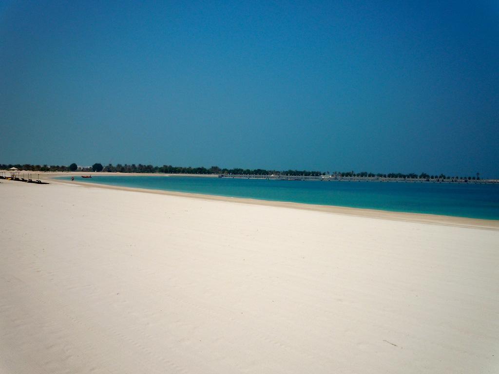 Пляж Абу-Даби в ОАЭ, фото 4