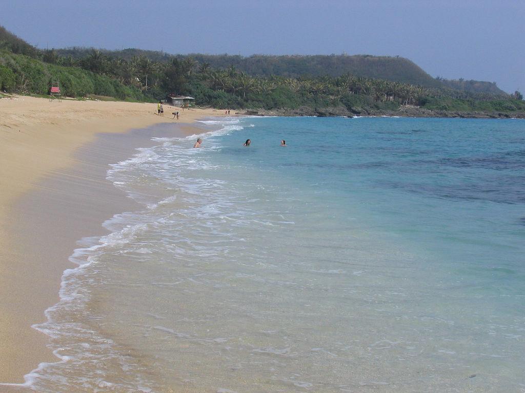 Пляж Байша в Тайване, фото 4