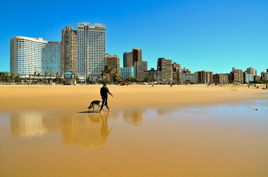 Пляж Дурбан в ЮАР-е, фото 1