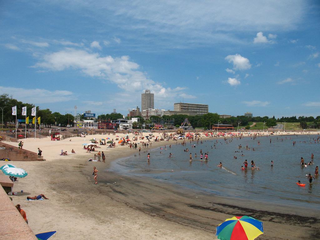 Пляж Монтевидео в Уругвае, фото 2