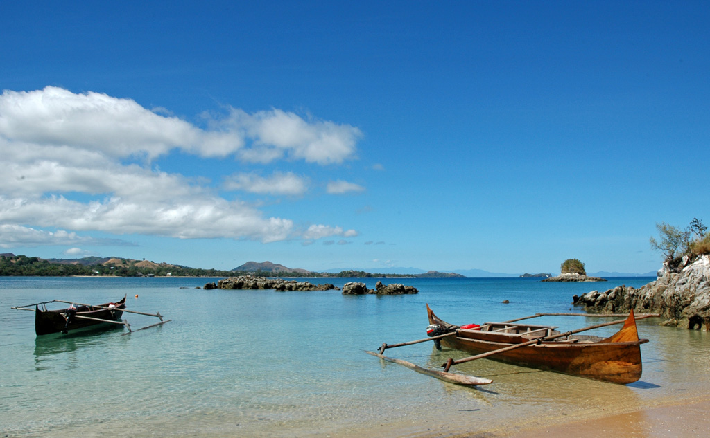 Пляж Нуси-Бе на Мадагаскаре, фото 1