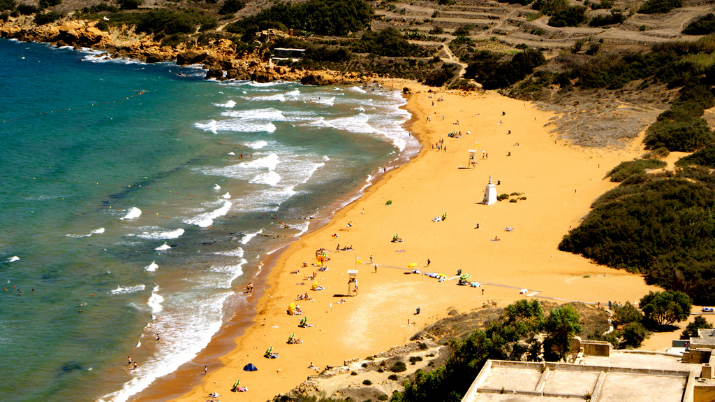 Пляж Рамла на Мальте, фото 1