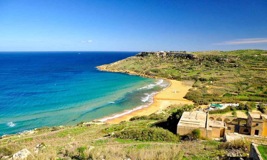 Пляж Рамла на Мальте, фото 5