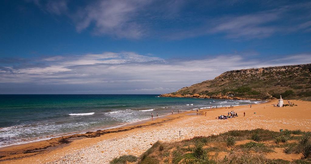 Пляж Рамла на Мальте, фото 6