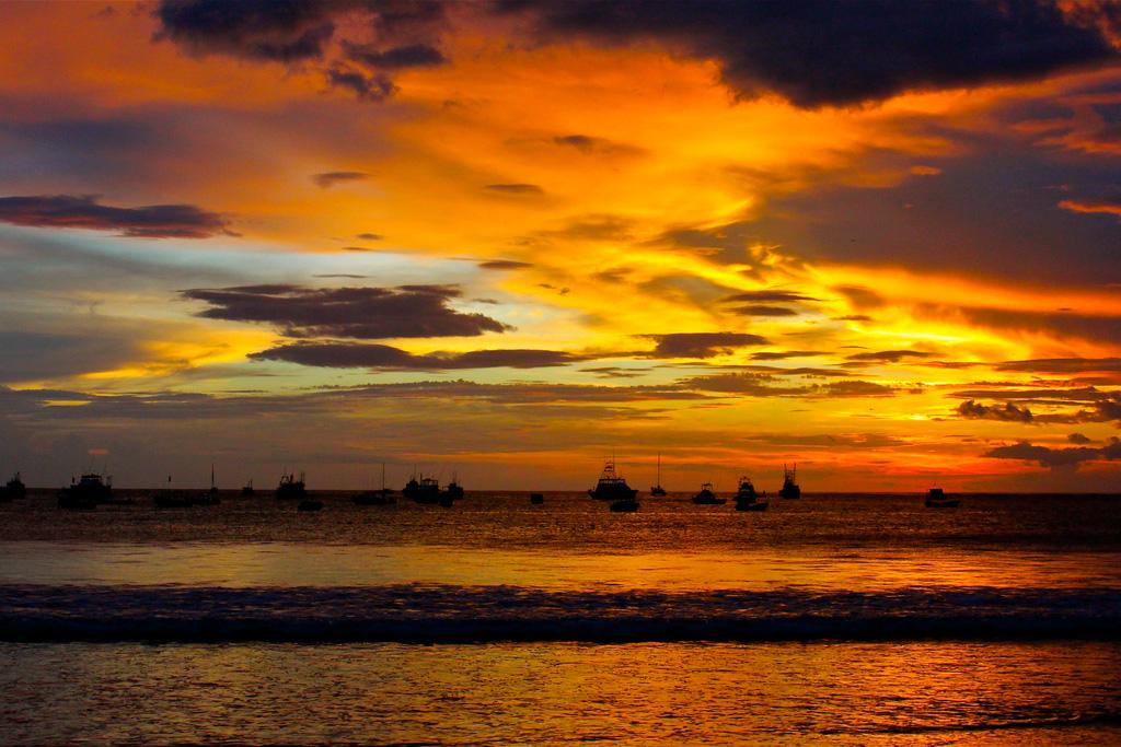 Пляж Сан Хуан дель Сур в Никарагуа, фото 1