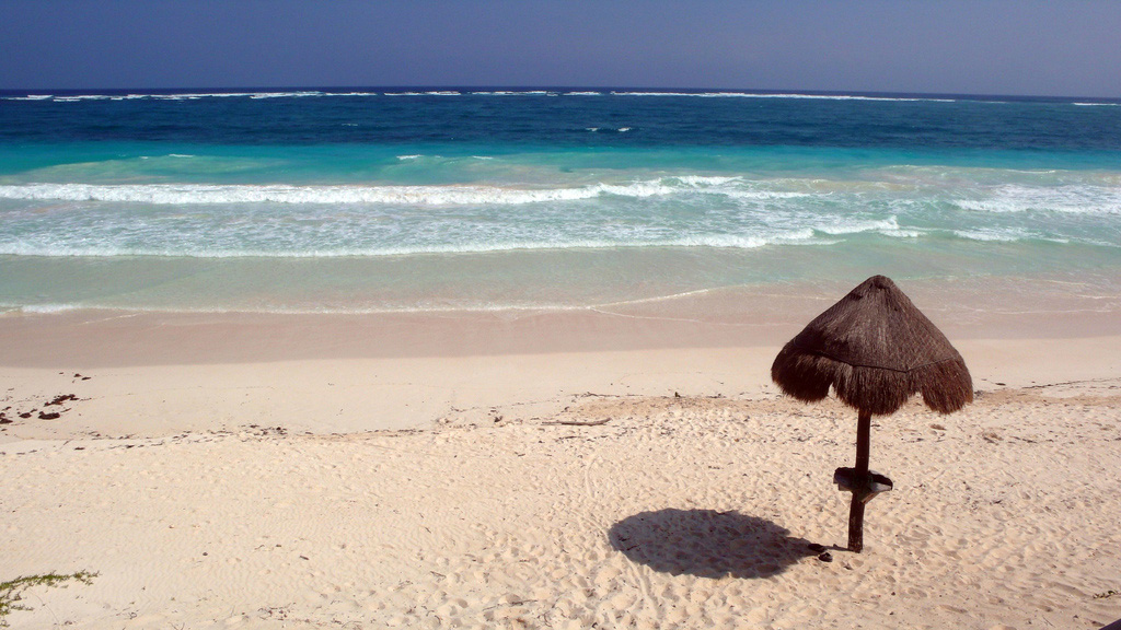 Пляж Сиан Каан в Мексике, фото 5