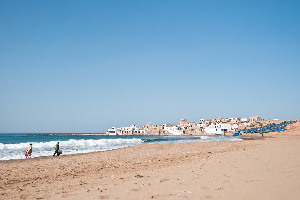 Пляж Тагхазоут в Марокко, фото 2