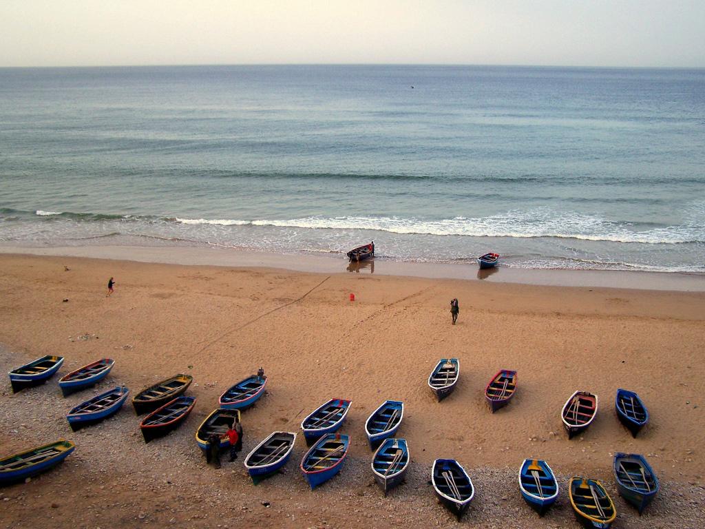 Пляж Тагхазоут в Марокко, фото 6