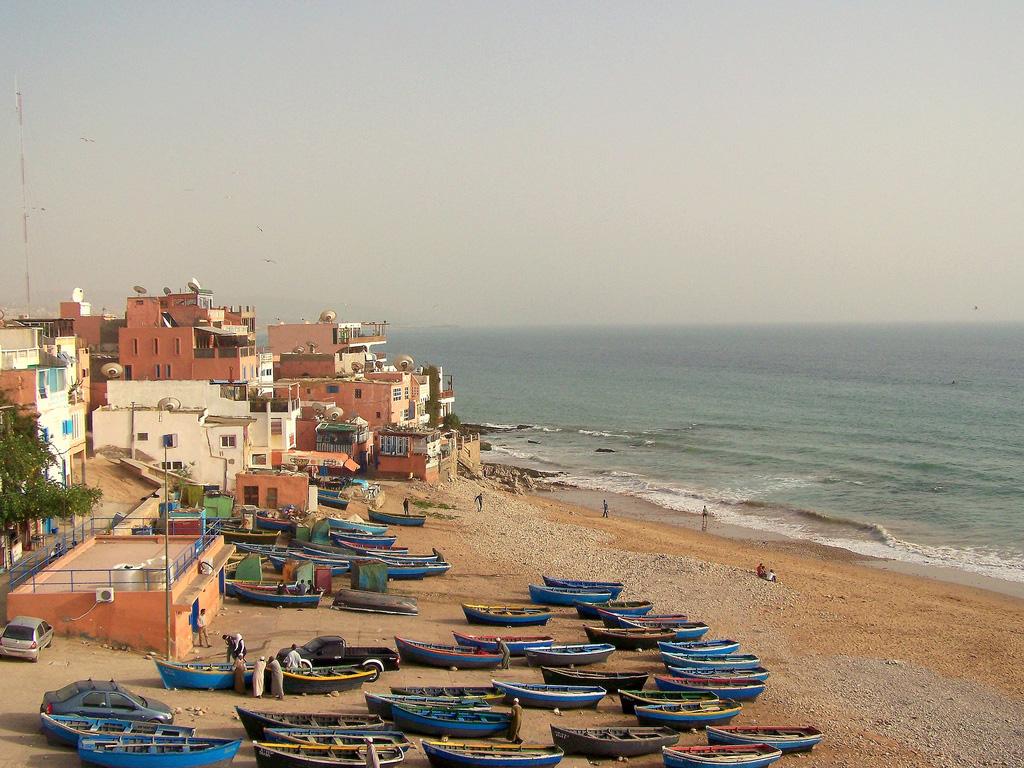 Пляж Тагхазоут в Марокко, фото 7