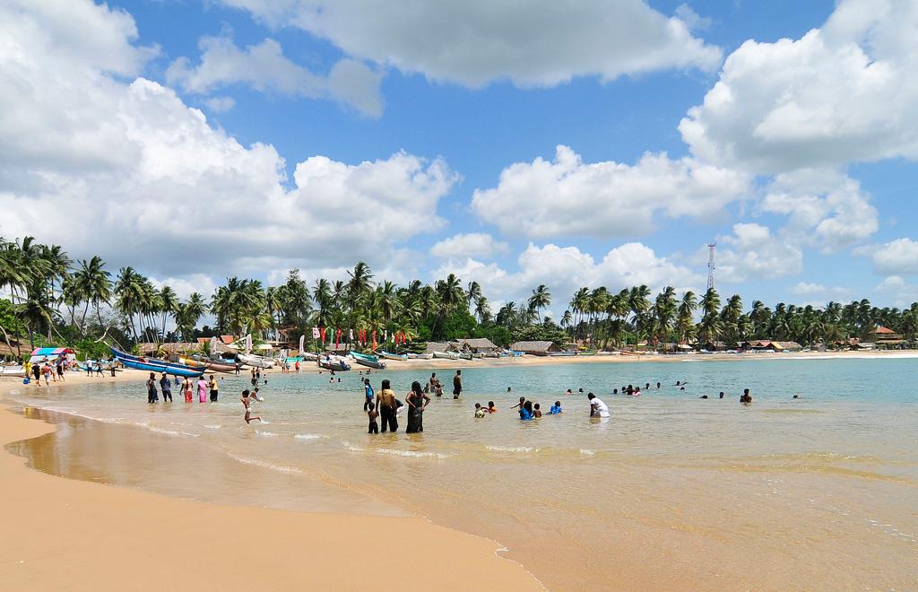 Пляж Тангалла в Шри-Ланке, фото 1