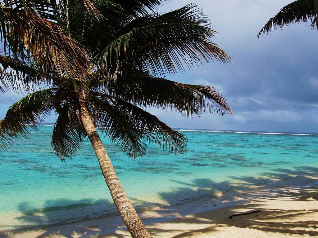 Пляж Титикавека на острове Кука, фото 1