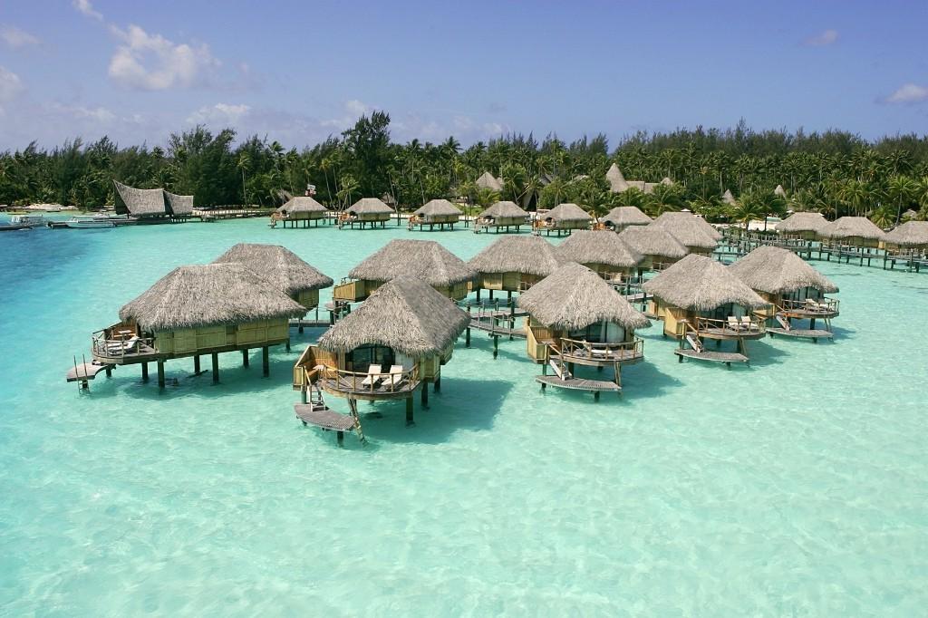Пляж Бора Бора во Французской Полинезии, фото 1