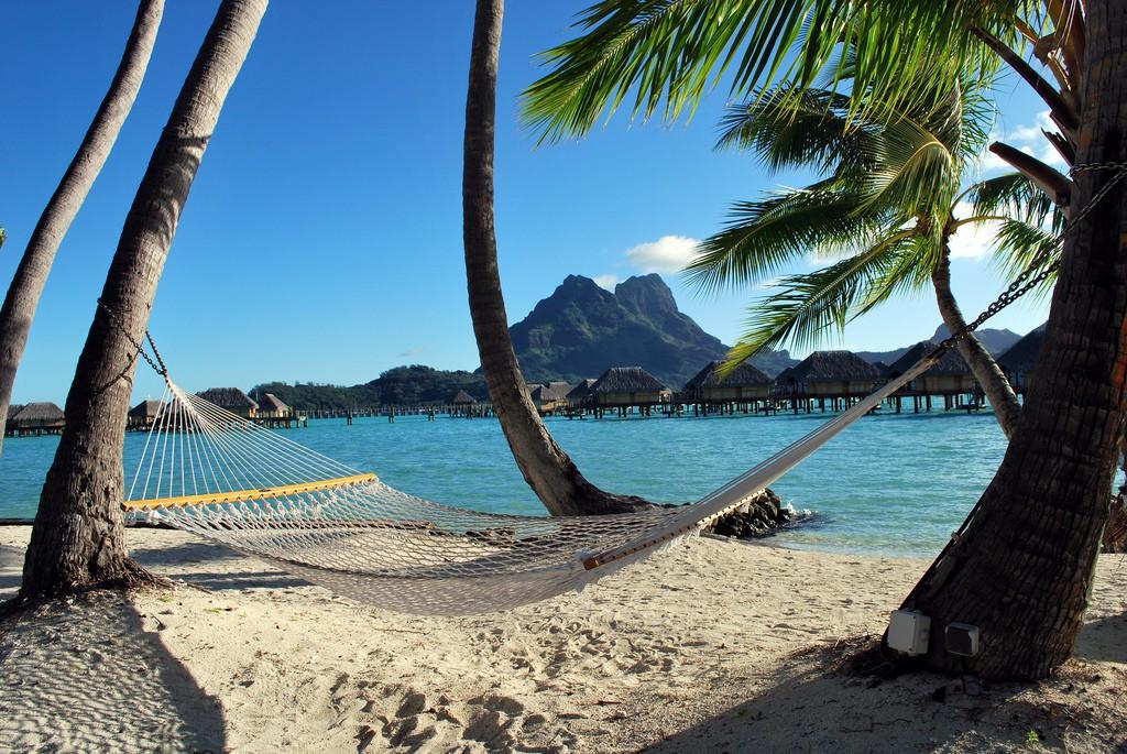 Пляж Бора Бора во Французской Полинезии, фото 2