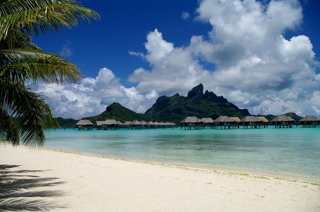 Пляж Бора Бора во Французской Полинезии, фото 3