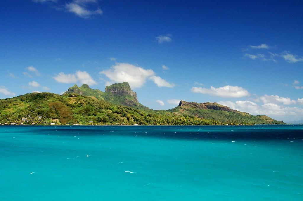 Пляж Бора Бора во Французской Полинезии, фото 4