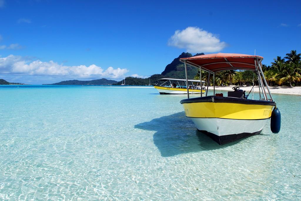 Пляж Бора Бора во Французской Полинезии, фото 5