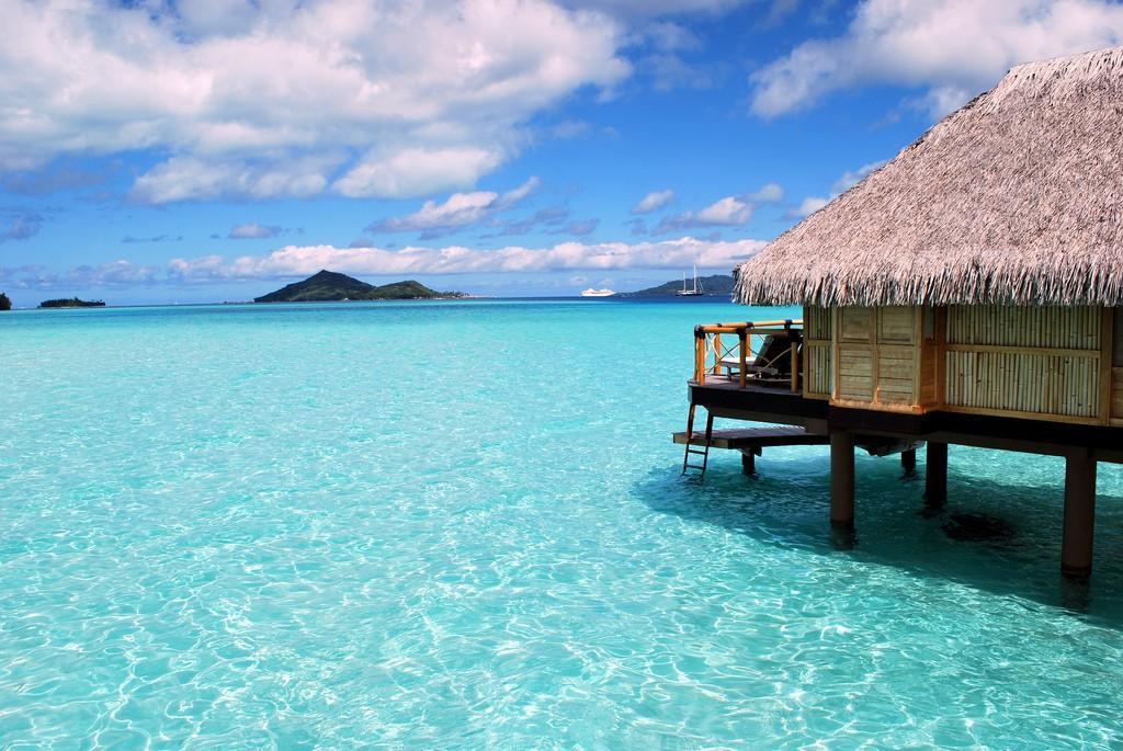 Пляж Бора Бора во Французской Полинезии, фото 6