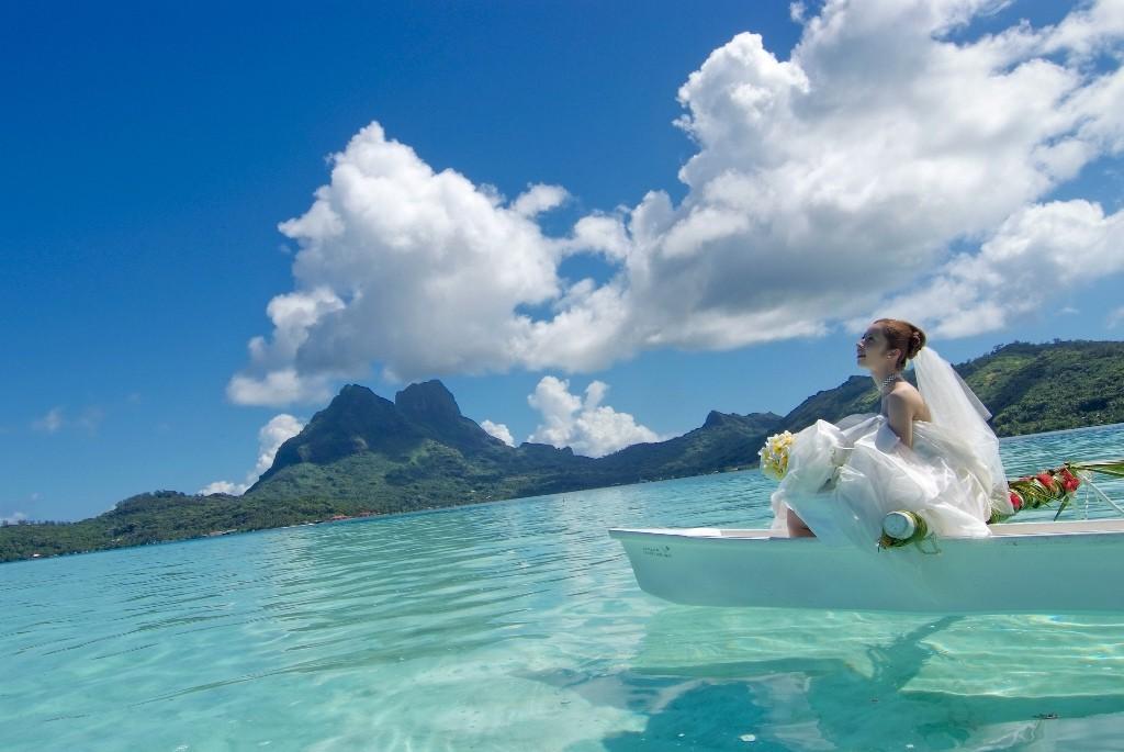 Пляж Бора Бора во Французской Полинезии, фото 7