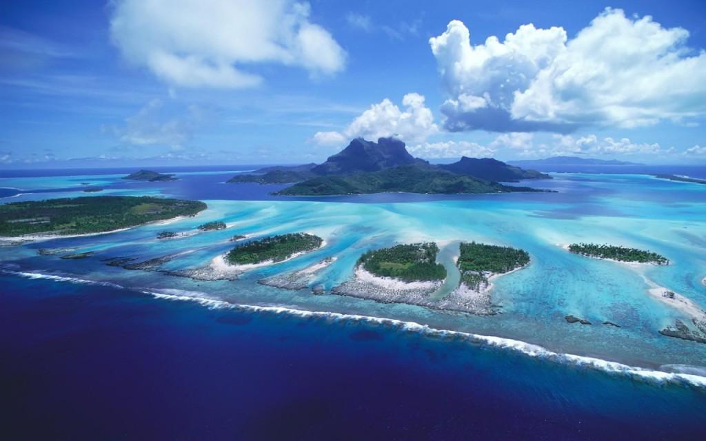 Пляж Бора Бора во Французской Полинезии, фото 8