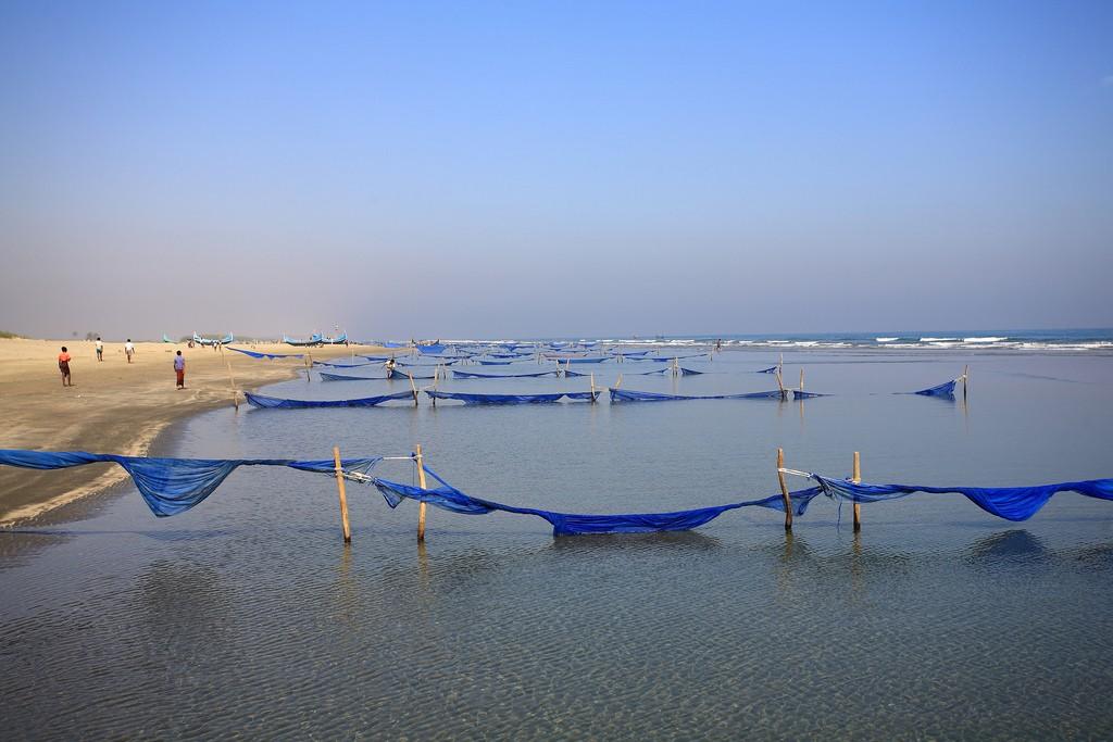 Самый длинный пляж в мире - Пляж Кокс-Базар в Бангладеше, фото 10