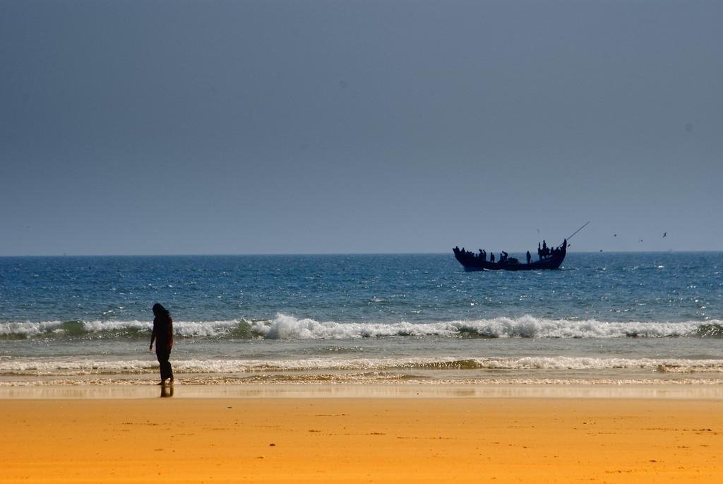 Самый длинный пляж в мире - Пляж Кокс-Базар в Бангладеше, фото 4
