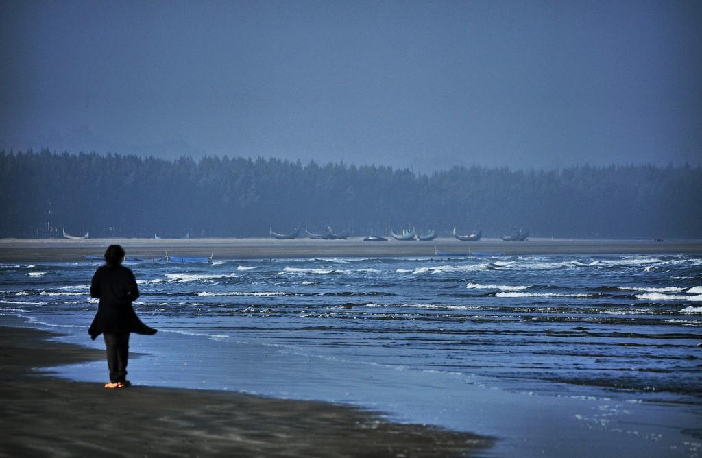 Самый длинный пляж в мире - Пляж Кокс-Базар в Бангладеше, фото 9
