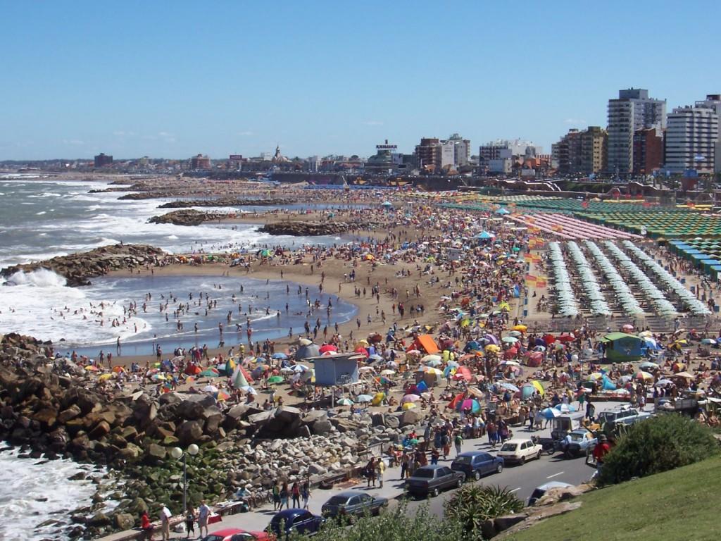 Пляж Мар-дель-Плата в Агрентине, фото 1