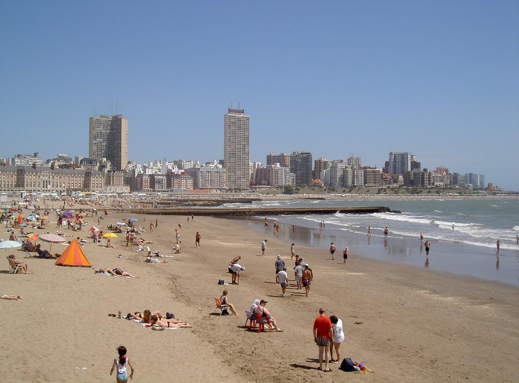 Пляж Мар-дель-Плата в Агрентине, фото 3